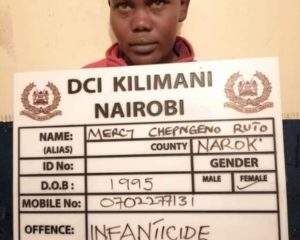 Kenyan mother strangles her baby, disposes body at dumpsite