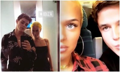 Lottie Tomlinson takes next step with Sam Prince as they 'cosy up' at X Factor
