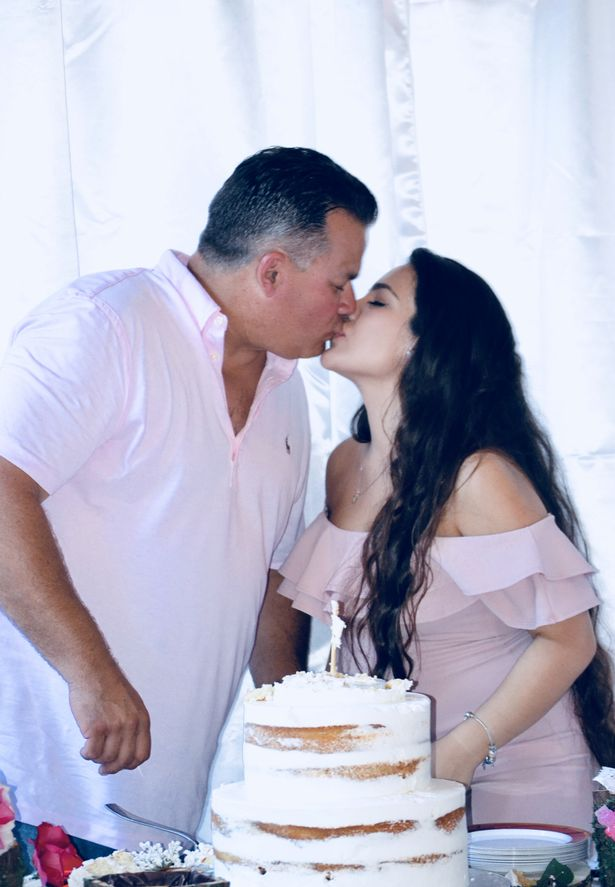 Teen pregnant WEEKS into relationship with man, 51, often mistaken for her dad