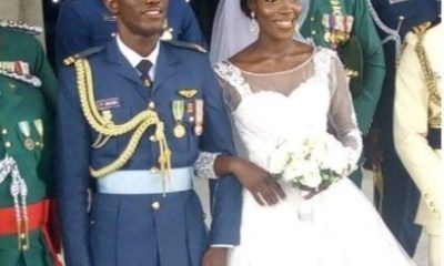 I learnt about my husband's death on WhatsApp – Wife of NAF pilot, Perowei Jacob who was killed in Borno helicopter crash says