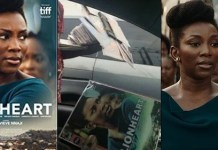 Pirated Copies Of 'Lionheart' Movie By Genevieve Nnaji Sold For N150 In Lagos Traffic
