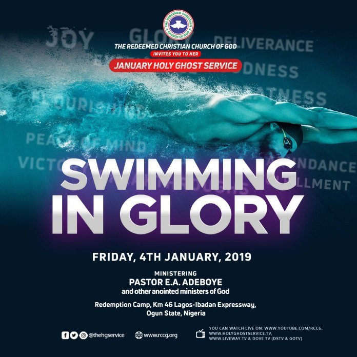 RCCG Holy Ghost Service January 2019, Watch LIVE: RCCG Holy Ghost Service January 2019