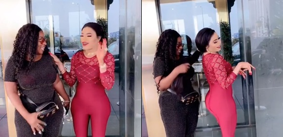 Bobrisky flaunts his newly constructed dangerous hips
