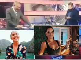 Male TV Presenters Caught Talking About Female Reporter's B!reast in TV Studio