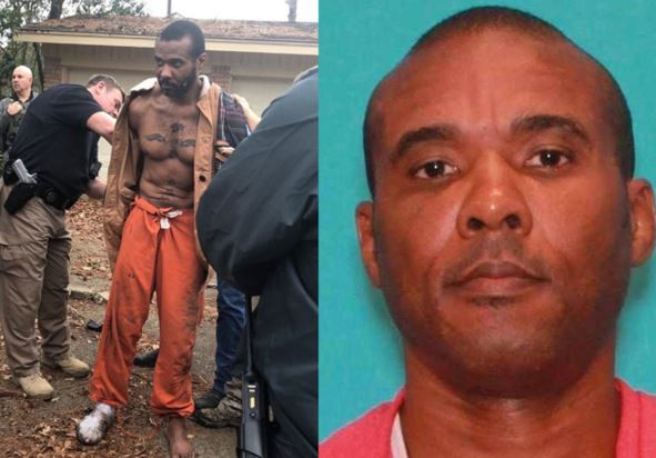 Texas police re-arrest MMA fighter who is facing murder charges just 9-hours after he escaped from custody