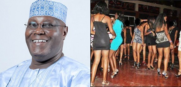 10,000 prostitutes storm Abuja in support of Atiku Abubakar, to declare free sex