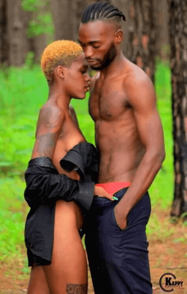 Couple's na9ked photoshoot make them go viral (+18)