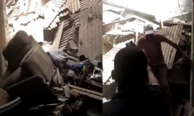 Another building collapses in Lagos, many trapped