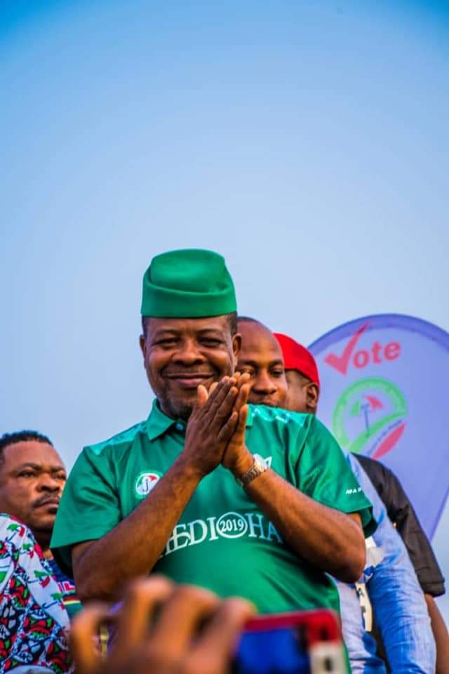 Imo Governorship Election Update: PDP's Emeka Ihedioha wins polls
