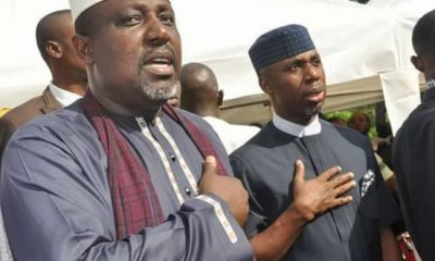 Governor Rochas Okorocha of the All Progressives Congress, APC, and his son-in-law, Uche Nwosu, have lost their respective polling units to the Peoples Democratic Party, PDP, in Saturday's election. While Okorocha lost the Government House polling booth in the governorship and House of Assembly elections, his former Chief of Staff, Nwosu of the Action Alliance, AA, also lost his polling unit. PDP polled a total of 38 in the Government House unit 001 and 62 votes in unit 002 while APC polled 6 and 7 votes from unit 001 and 002 respectively. For the House of Assembly election, PDP polled 40 and 53 votes from units 001 and 002, while APC polled 8 and 7 votes from the units. Uche Nwosu's AA polled 14 and 21 votes from the two polling units for the governorship and 9 and 27 votes for the House of Assembly. Total votes scored by the PDP in the governorship election at the Government House unit was 100 while APC scored 13. For the House of Assembly, PDP polled 93 while APC polled 17.