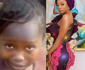 Viral video: ''Of what use is flogging a child whose parents are yet to pay his/her school fees?- Toke Makinwa asks