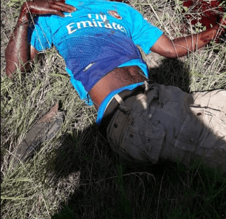 Husband hacks to death man who tried to rape his pregnant wife (graphic photos)