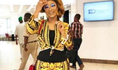 Tonto Dikeh reacts to the allegation she illegally sold her ex-hubby Olakunle Churchill's N22 million Toyota Prado SUV