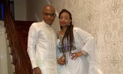 Leaked video of Nnamdi Kanu naked with his wife in bed