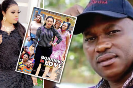 Movie Producer, Kensteve Anuka who featured Bobrisky in his movie finally speak