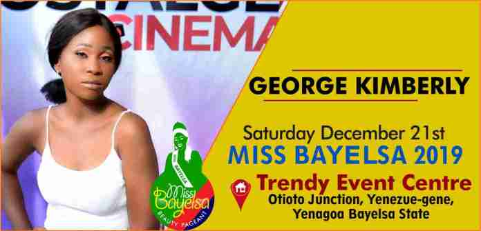 Vote For George Kimberly Miss Bayelsa 2019 Contestant