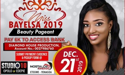 Vote Your Favourite Miss Bayelsa 2019 Contestants