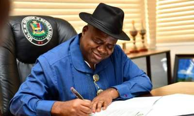 Gov. Douye Diri makes first set of appointment.