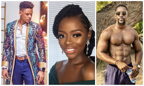 Twitter users troll Diane after Elozonam revealed she dumped him for Mawuli at a party