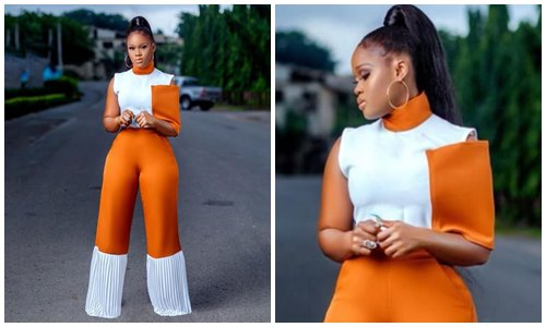 Cee-c looks adorable in new photos - 'Fall 9 times, get up 10'