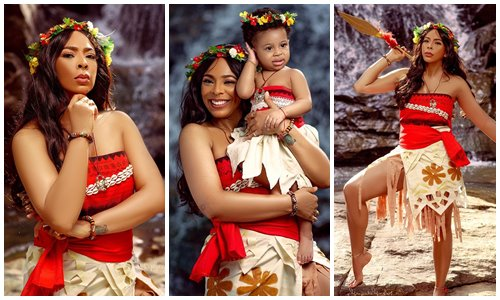 Photo of TBoss shares adorable photos as she celebrate daughter's first birthday