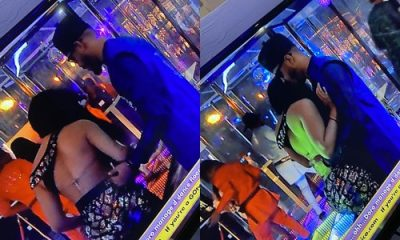 BBNaija 2020: Watch moment Nengi pushed Ozo away, says 'I Don't Need Your STUPID Love'