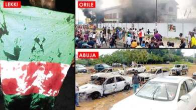 Black Tuesday: 49 killed as #EndSARS protests turn bloody