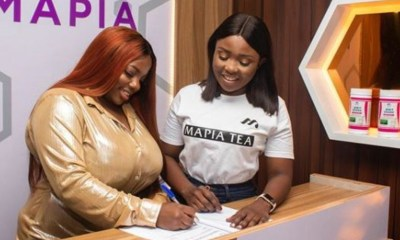 BBNaija First Runner Up, Dorathy Signs Deal With Mapia Tea (Photo)
