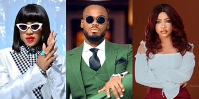 Watch as Erica, Nengi and Prince work together for the first time after BBNaija show (Video)