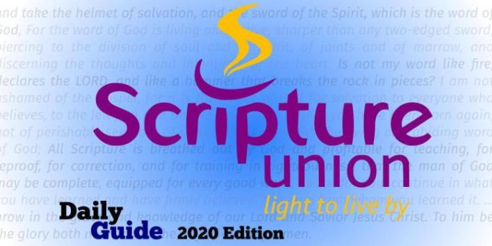 Scripture Union Daily Guide for 16 April 2021 - Consider What You Say!