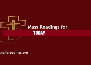 Catholic Daily Mass Readings for 5th August 2021 Online