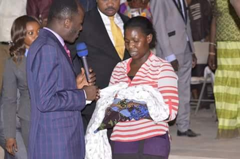Apostle Suleman adopts 2-day old orphan
