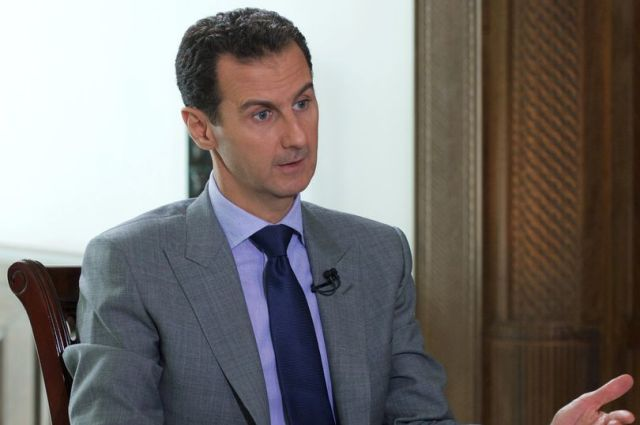 Syrias-President-Bashar-al-Assad-speaks-during-an-interview-with-Russian-tabloid-Komsomolskaya-Prav