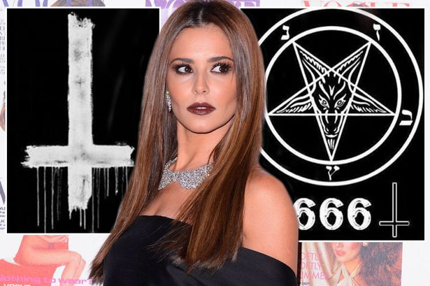Cheryl has been targeted by satanic trolls
