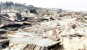 Demolition in Lagos kills two and injures many