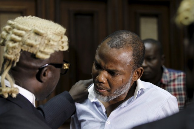Nnamdi Kanu of Biafra rejects Bail terms