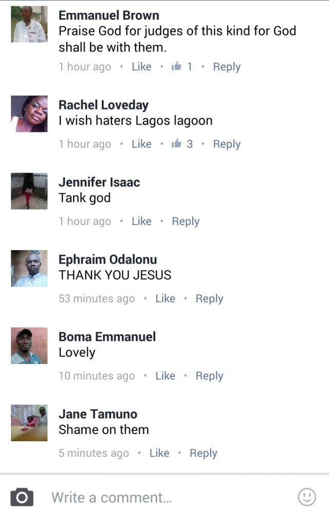 """Facebook comments - EFCC and Patience Jonathan: """"He Who Laugh Last, Laugh Best"""" 1"""