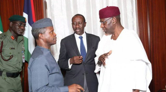 Nigerian military is on top of its game in the north-east, says Yemi Osinbajo.jpeg