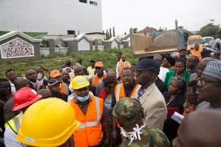 Nigerian Minister of Power, Works & Housing