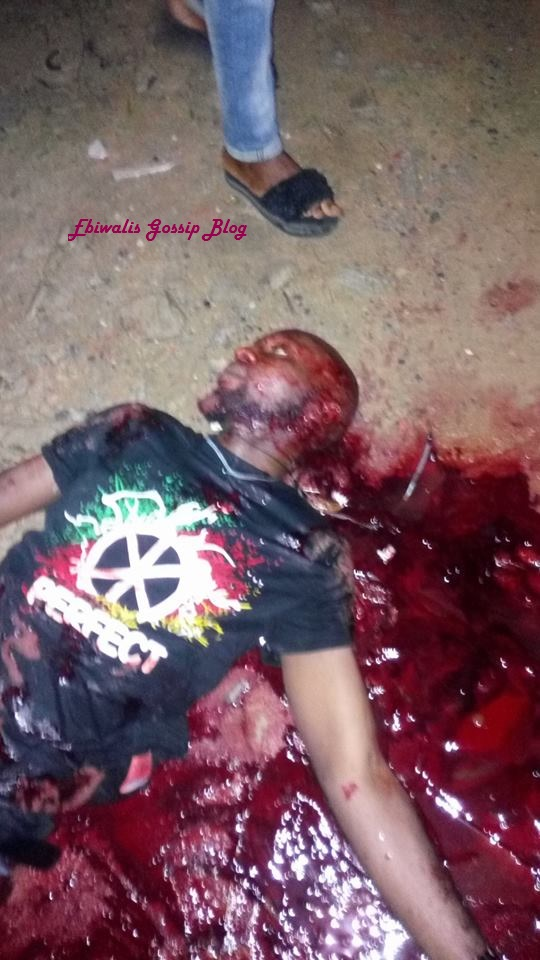 Fresh Graduate Killed In Front Of His House In Yenagoa [Graphics Photos]
