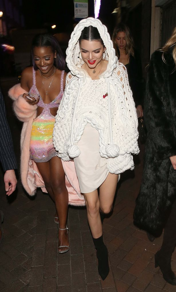 Kendall-Jenner-Lily-Donaldson-At-Cirque-Le-Soir-Night-Club-In-London