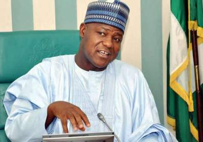 Speaker, House of Representatives, Mr. Yakubu Dogara