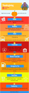 Fun Thanksgiving Financial Facts Infographic