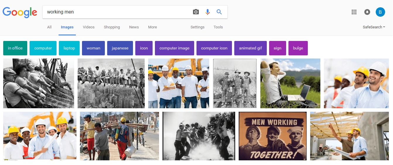 Working Men Google Image Search