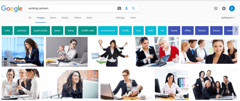 Working Women Google Image
