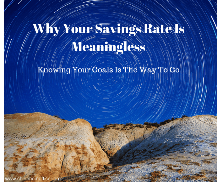 Why Your Savings Rate Is Meaningless