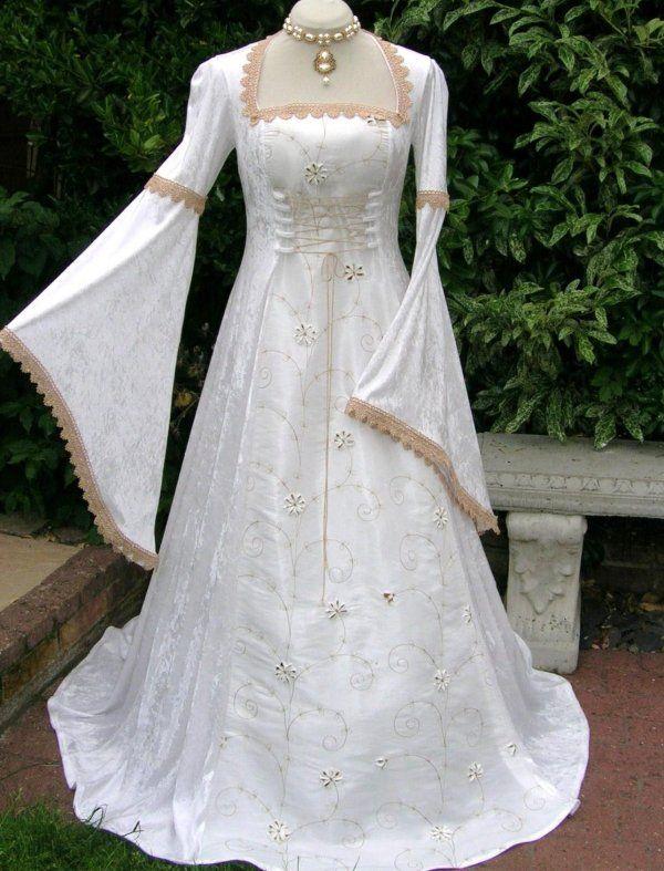 Renaissance wedding dress