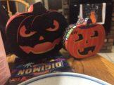 Halloween Dollar Store Pumpkins