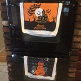 Decorative Halloween Towels