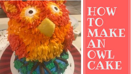 Making An Owl Cake Plus My Awesome Chocolate Recipe